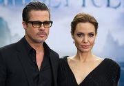 Brad Pitt a depus actele pentru custodia comună a celor şase copii
