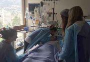 Moment sfasietor! O mama isi saruta fiica pentru ultima oara, inainte ca organele ei sa fie donate