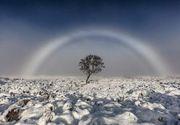 Un fotograf a surprins un curcubeu alb, in Scotia. Imaginile sunt incredibile