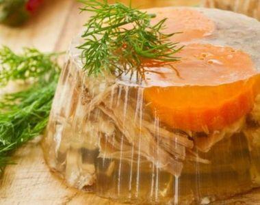 Secretul piftiei gustoase de porc, dezvaluit de un maestru in bucataria moldoveneasca