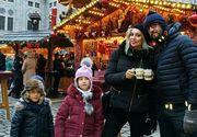 Walter si Raluca Zenga au fost luni la Targul de Craciun din Berlin, alaturi de copii. Prietenii se tem pentru ei