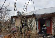 Giurgiu: Copil de trei ani, gasit mort langa usa casei in urma unui incendiu. Micutul era singur in locuinta