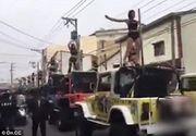 Inmormantare cu muzica si 50 de dansatoare exotice pentru un oficial guvernamental