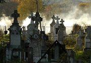 Iasi: Barbat de 50 de ani gasit mort langa un cavou din cimitir