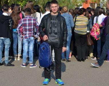 Baiatul orfan din Breaza de Buzau ajutat de Gigi Becali a ajuns in grija preotului...