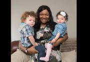 Ea este singura femeie de culoare care a adus pe lume doi copii albi. Sansele sunt de 1 la 1 milion