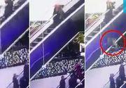 Tragedie intr-un mall. Un copil a murit dupa ce mama lui s-a impiedicat pe scarile rulante si l-a scapat din brate