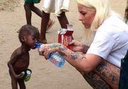 Copilul nigerian abandonat de parinti si lasat sa moara de foame pe strazi a inceput scoala. E de nerecunoscut!