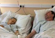 Fotografie sfasietoare. Doi soti bolnavi de cancer au murit tinandu-se de mana