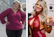 O tanara de 24 de ani a slabit peste 70 de kilograme cu ajutorul unei aplicatii mobile! Arata impecabil. E de nerecunoscut dupa ce si-a injumatatit greutatea