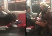 Ce i-a spus aceasta femeie unui tanar care nu voia sa isi ia picioarele de scaun. A fost aplaudata de toata lumea