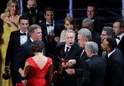 """Gafa de proportii la Oscar 2017: """"Moonlight"""" castiga premiul pentru cel mai bun film, dupa o eroare a organizatorilor"""
