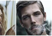 "Cel mai frumos si cunoscut model cu barba s-a ras si s-a tuns! Cum arata acum ""Brad Pitt"" al Suediei"