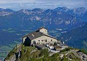 """Cum arata si cat valoreaza """"Cuibul vulturului"""", resedinta de vara a lui Hitler! A fost ridicata pe varful unui munte, iar privelistea este incredibila!"""