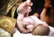 Stiai de obiceiul bizar al romanilor de a-si boteza copiii de doua ori? Este inspaimantator de ce se face asta