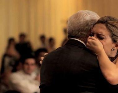 Tatal ei a murit chiar inainte sa se casatoreasca. Ce s-a intamplat la nunta ei i-a...
