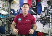 "Astronautul Thomas Pesquet de pe Statia Spatiala Internationala a felicitat sapte elevi din Pascani: ""Ati facut o treaba excelenta"""