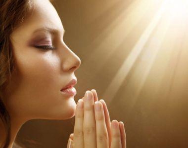 Cand este bine sa ne rugam? Portile cerului sunt deschise in patru momente importante...