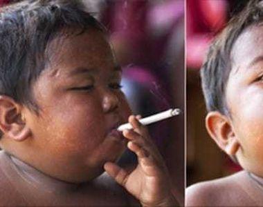 Vi-l amintiti pe copilul care fuma doua pachete de tigari pe zi, la doar 9 ani? S-a...