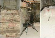 Imagini infioratoare din celula unde un pensionar a fost tinut ostatic de catre o prostituata si iubitul e