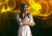 O pustoaica de numai 12 ani a facut senzatie la un show de talente din Rusia cu o piesa in limba romana