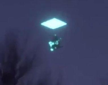 Aparitie misterioasa pe cer! Un obiect neidentificat ce pare desprins din filmele SF a...