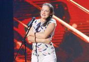 Aparitie de senzatie a Paulei Rad pe scena talentelor! Soprana care lucreaza ca femeie de serviciu a furat ochii tuturor