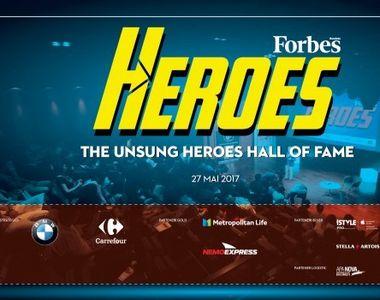 Forbes Heroes 2017, un eveniment de bun simt