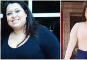 Aceasta tanara a slabit aproape 70 de kilograme doar prin dieta si sport! Arata incredibil. E de nerecunoscut