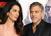 "Sotia lui George Clooney, Amal, a nascut gemeni: ""George este sedat si isi va reveni in cateva zile""."