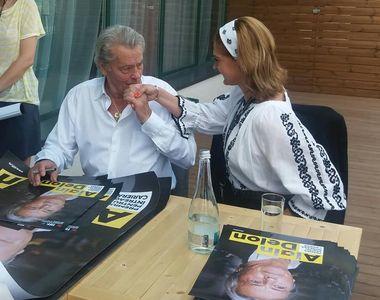 "Manuela Harabor, intalnire emotionanta cu marele Alain Delon: ""M-a complimentat!..."