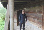 Actorul american Harvey Keitel, cucerit de locurile si de oamenii din Maramures. A vizitat casa in care a locuit mama sa