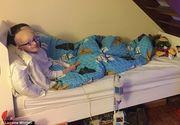 """""""Tine minte: fii vesel"""", biletul pe care un baietel de 9 ani, grav bolnav de cancer, l-a scris cand se simtea extrem de rau"""