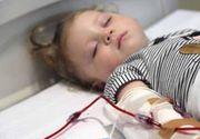 Un copil de 4 ani, aflat in coma, are nevoie de sangele nostru pentru a putea trai!