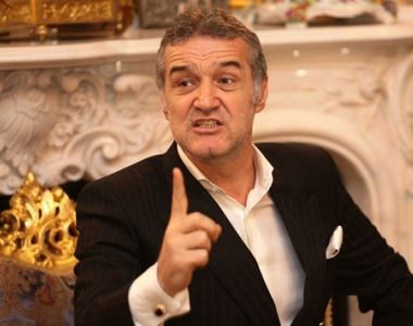Gigi Becali l-a desfiintat pe Mugur Isarescu pentru ca guvernatorul BNR nu i-a dat...