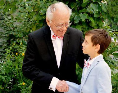 """Mihai Sora se amuza de varsta sa! Scriitorul implineste peste doua luni,101 ani! """"Nu ne..."""