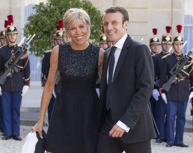 Imagini inedite de la nunta lui Emmanuel Macron cu Brigitte Trogneux. Tinuta foarte...