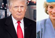 """Printesa Diana nu reusea sa scape de avansurile lui Trump. """"M-as fi culcat cu Printesa Diana fara nicio ezitare, chiar daca era nebuna"""", a declarat presedintele american"""