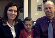 Un baietel de opt ani spune ca ingerii l-au ajutat sa-si salveze tatal de la moarte