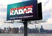 Astazi are loc decernarea trofeelor la Gala Premiilor Radar de Media 2017 - Vezi unde are loc evenimentul si cine sunt castigatorii