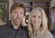 Chuck Norris renunta la cariera pentru a se dedica sotiei care a fost otravita