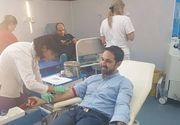 Tudy a donat sange pentru a salva cainii din Oradea