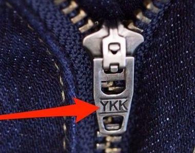 De ce pe aproape toate fermoarele apare inscriptia YKK? Stiai ce inseamna?