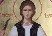 Crestinii o sarbatoresc astazi pe Sfanta Mucenita Filofteia!