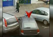 O soferita s-a chinuit in zadar sa efectueze o parcare simpla! Imagini savuroase!