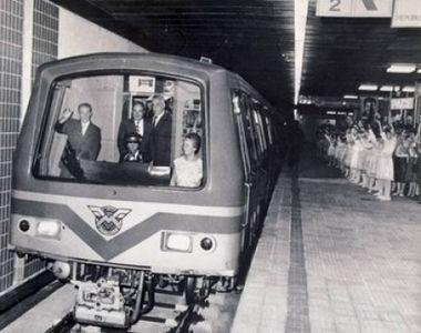 7 mituri adevarate despre metroul din Bucuresti! De ce suiera rotile cand trenul intra...