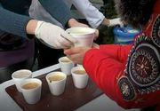 Mancare calda oferita gratuit in Centrul Vechi in ajun de Boboteaza!