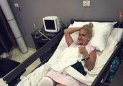 Sotului Andei Adam i s-a facut rau cand a vazut cum arata piciorul acesteia! Accidentarea de la Exatlon a bagat-o pe cantareata direct in operatie