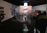 Primele imagini de la Galeriile Mobius, acolo unde admiratorii ii pot aduce un ultim omagiu lui Andrei Gheorghe!