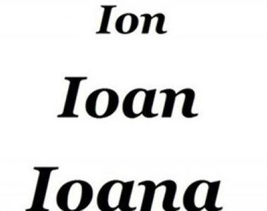 Semnificatia numelui: ce reprezinta numele Ion